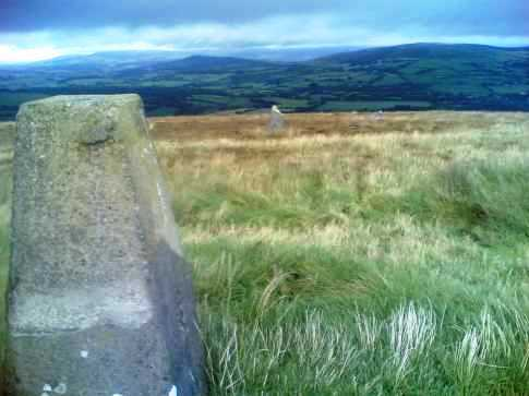 MountainViews.ie Picture about mountain Baltinglass Hill in area Dublin/Wicklow, Ireland