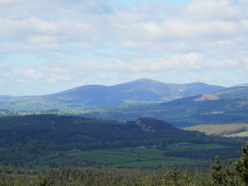 MountainViews.ie Picture about mountain Carrick Mountain in area Dublin/Wicklow, Ireland