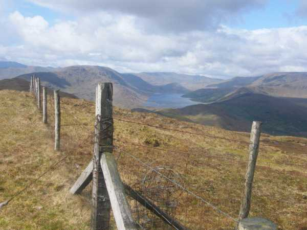MountainViews.ie Picture about mountain Glenbeg East in area Partry/Joyce Country, Ireland