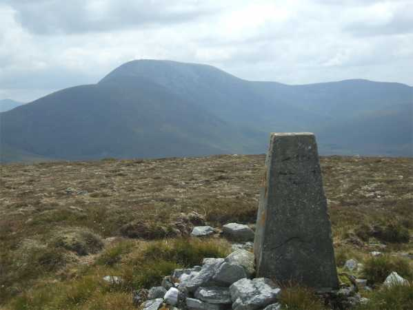 MountainViews.ie Picture about mountain Knocklettercuss in area North Mayo, Ireland