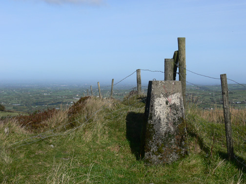 MountainViews.ie Picture about mountain Carrigatuke in area Cooley/Gullion, Ireland