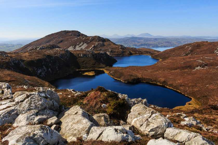 MountainViews.ie Picture about mountain Cnoc Colbha in area Donegal NW, Ireland