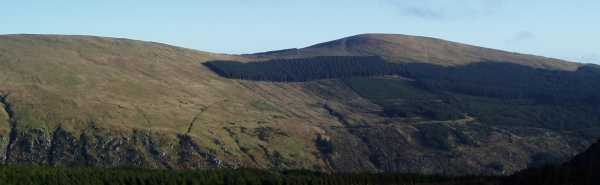 MountainViews.ie Picture about mountain Mullacor in area Dublin/Wicklow, County Wicklow, Ireland