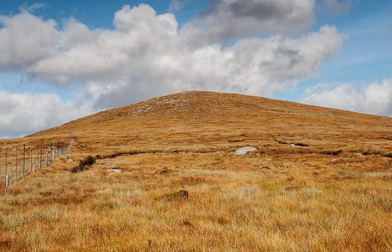 MountainViews.ie Picture about mountain Gartan Mountain (<i>Sliabh Gartáin</i>) in area Donegal Central, Ireland