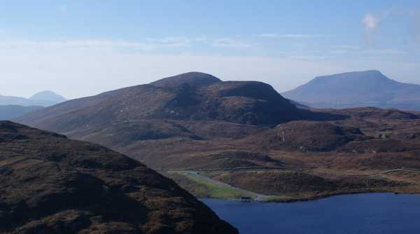 MountainViews.ie Picture about mountain An Cnoc Mór in area Donegal NW, Ireland