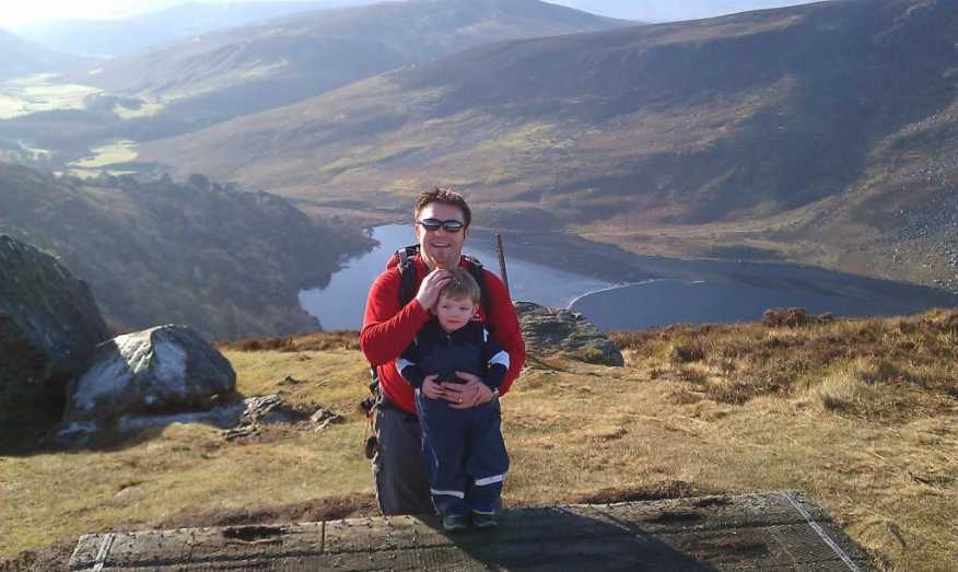 MountainViews.ie Picture about mountain Djouce in area Wicklow, Ireland