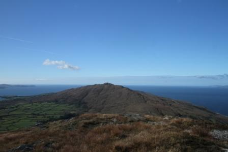 MountainViews.ie Picture about mountain Caher Mountain in area Mizen/Sheeps Head, Ireland