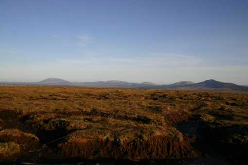 MountainViews.ie Picture about mountain Slieve Fyagh in area North Mayo, Ireland