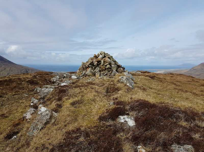 MountainViews.ie Picture about mountain Leitir Eitreann in area Twelve Bens, Ireland