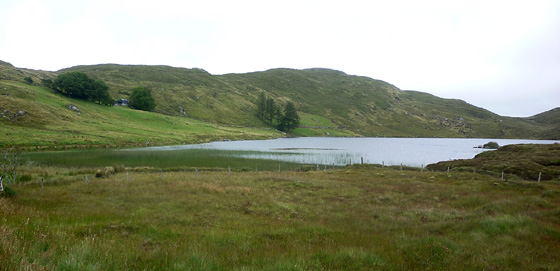 MountainViews.ie Picture about mountain Cnoc na Deirce Bige in area Bluestack Mountains, Ireland