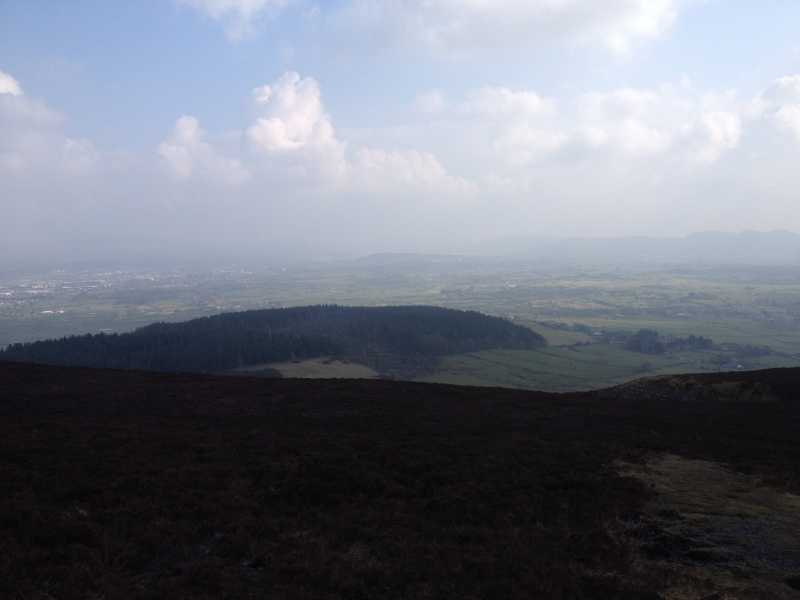 MountainViews.ie Picture about mountain Knocknarea in area Ox Mountains, Ireland