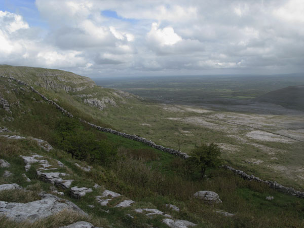 MountainViews.ie Picture about mountain Slievecarran in area West Clare, Ireland