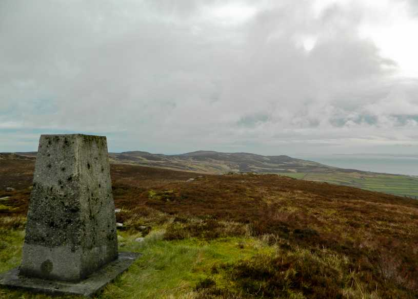 MountainViews.ie Picture about mountain Crocknasmug in area Inishowen, Ireland