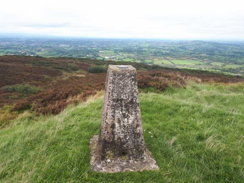 MountainViews.ie Picture about mountain Slieve Glah (<i>Sliabh gCleath</i>) in area North East Midlands, Ireland