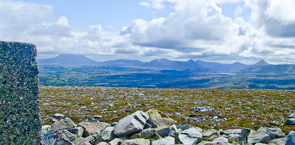 MountainViews.ie Picture about mountain Cnoc Fola in area Donegal NW, Ireland
