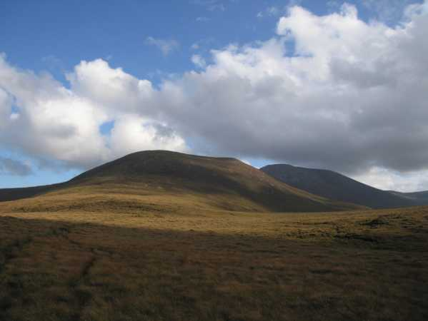MountainViews.ie Picture about mountain Slieve Carr in area North Mayo, Ireland