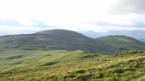 MountainViews.ie Picture about mountain Killaha Mountain in area Caha Mountains, County Kerry, Ireland