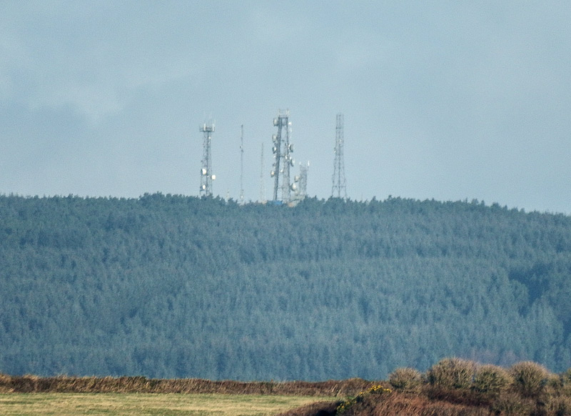 MountainViews.ie Picture about mountain Carronadavderg (<i>Carn an Daimh Dheirg</i>) in area Comeragh Mountains, Ireland