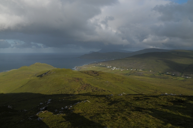 MountainViews.ie Picture about mountain Tievereivagh in area Achill/Corraun, Ireland