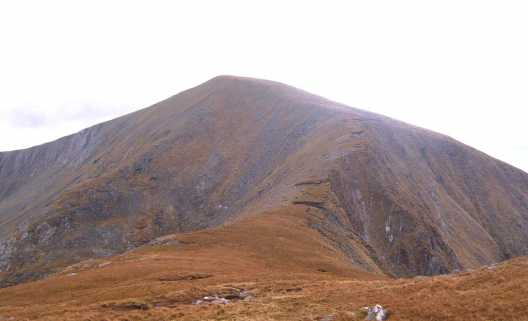 MountainViews.ie Picture about mountain Corranabinnia (<i>Coire na Binne</i>) in area North Mayo, Ireland