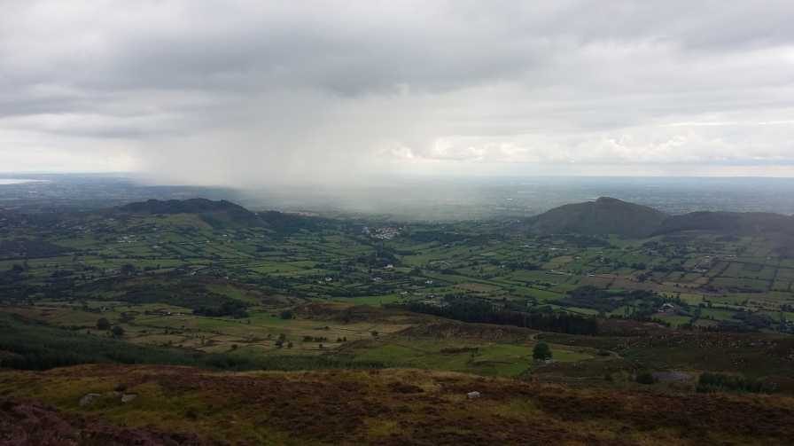 MountainViews.ie Picture about mountain Tievecrom in area Cooley/Gullion, Ireland