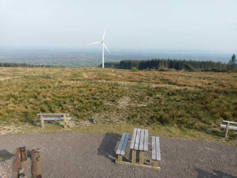 MountainViews.ie Picture about mountain Slieve Bawn in area North Midlands, Ireland