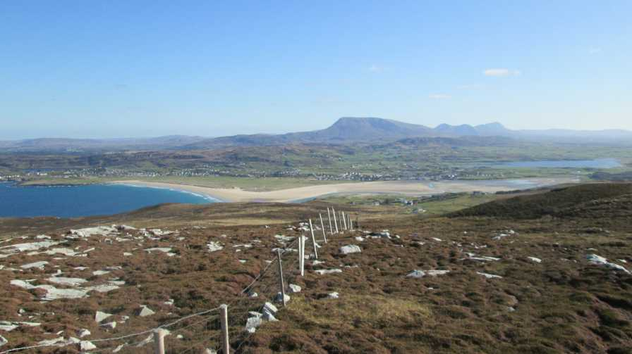 MountainViews.ie Picture about mountain Croaghnamaddy in area Donegal NW, Ireland