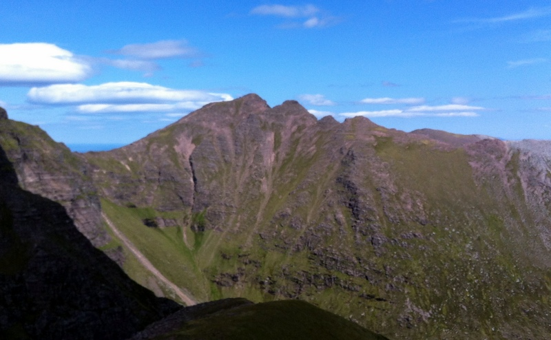 MountainViews.ie Picture about mountain An Teallach - Bidein a