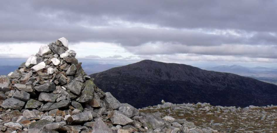 MountainViews.ie Picture about mountain Carn Mairg  in area Loch Rannoch to Glen Lyon, Ireland