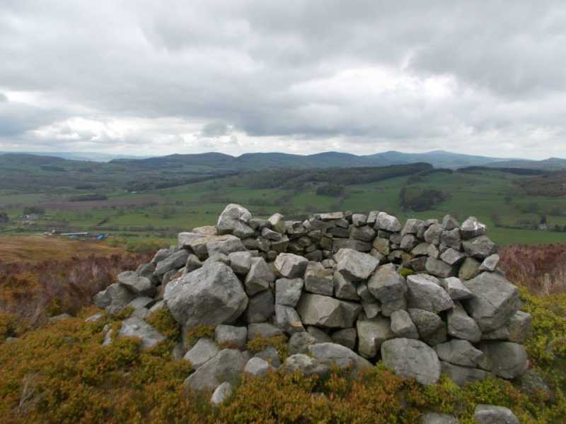 MountainViews.ie Picture about mountain Moel Garegog  in area Llandudno to Wrexham, Ireland