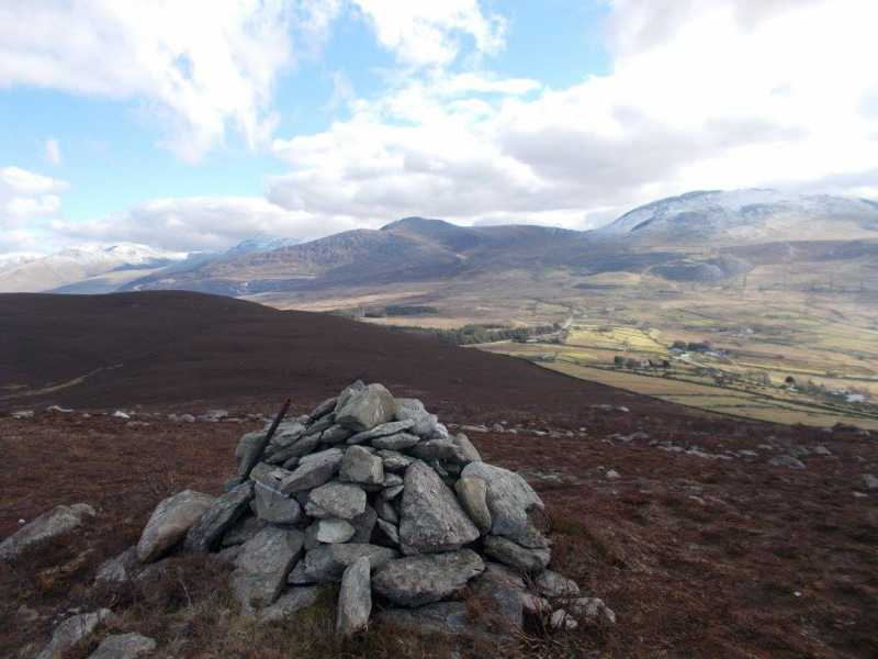 MountainViews.ie Picture about mountain Moel Rhiwen  in area Snowdonia, Ireland