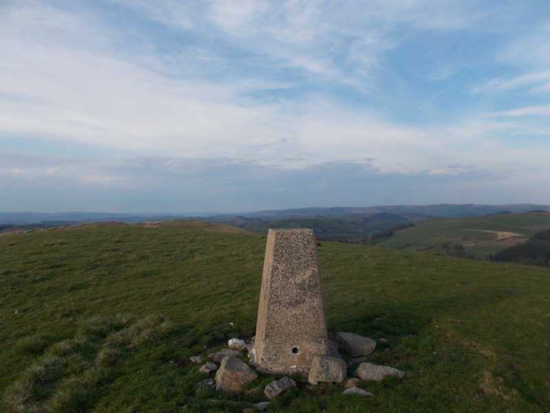 MountainViews.ie Picture about mountain Foel Gurig  in area Welshpool to Hay-on-Wye, Ireland