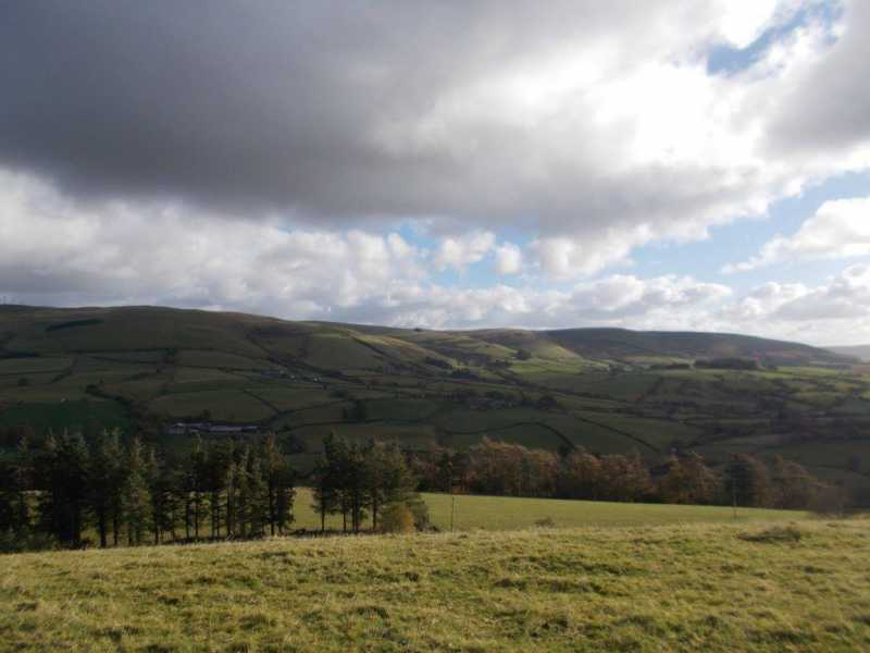 MountainViews.ie Picture about mountain Pant-poeth Hill  in area Welshpool to Hay-on-Wye, Ireland