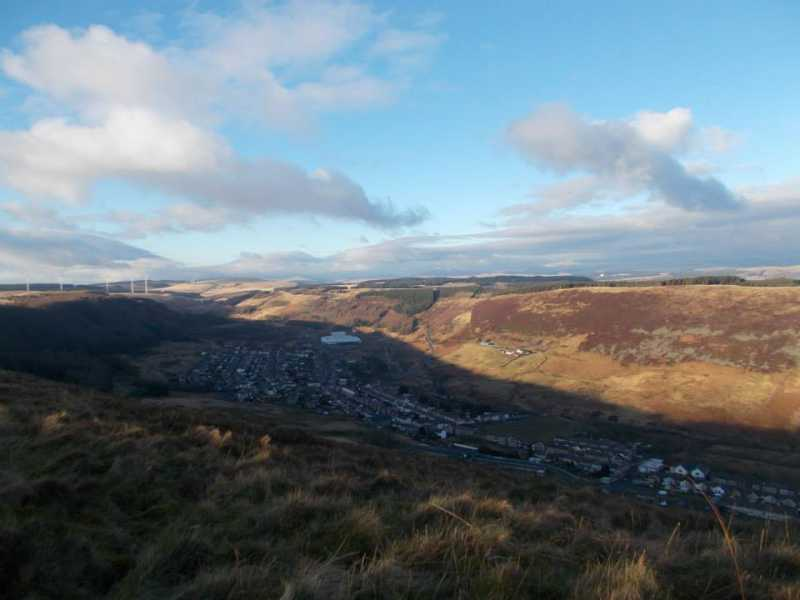 MountainViews.ie Picture about mountain Cefn y Rhondda  in area Neath to Chepstow, Ireland