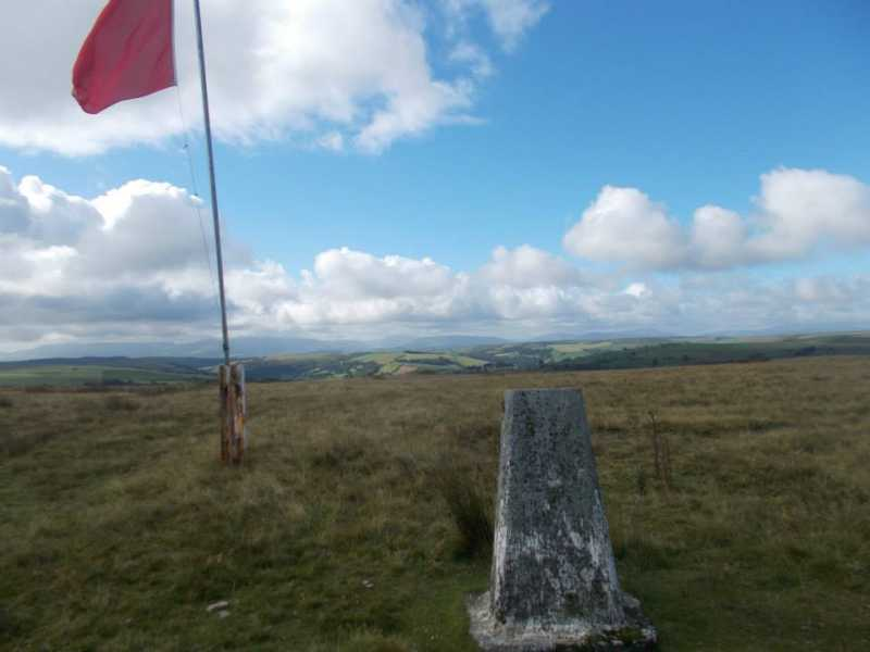 MountainViews.ie Picture about mountain Cefn Trum yr Hwch  in area Llandovery to Monmouth, Ireland