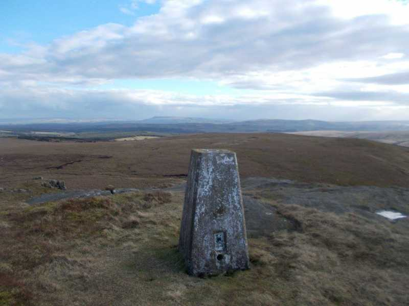 MountainViews.ie Picture about mountain Bowland Knotts  in area Lancashire, Cheshire & the Southern Pennines, Ireland