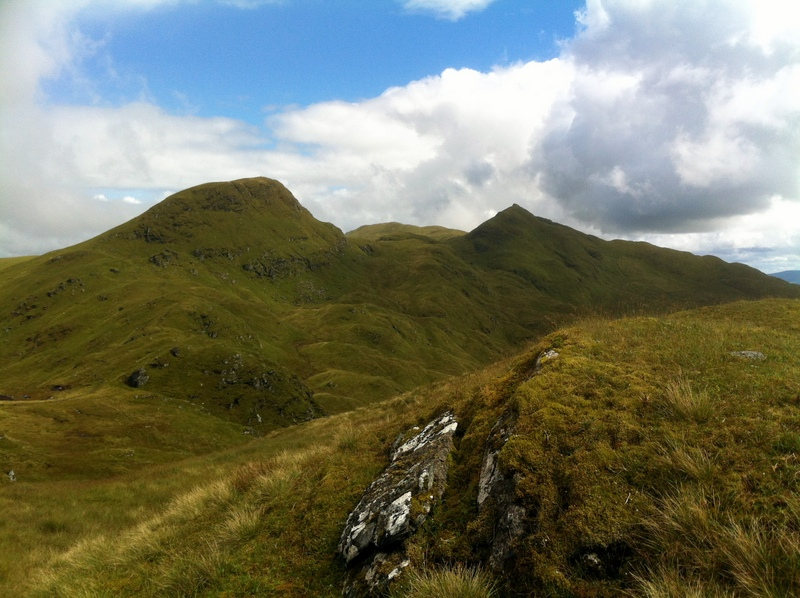 MountainViews.ie Picture about mountain Creag na Caillich in area Glen Lyon to Glen Dochart and Loch Tay, Ireland