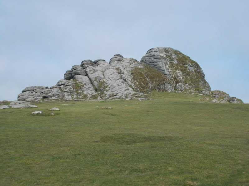 MountainViews.ie Picture about mountain Haytor Rocks in area Cornwall & Devon, Ireland