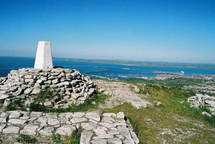 MountainViews.ie Picture about mountain Holyhead Mountain in area Anglesey and the Lleyn Peninsula, Ireland