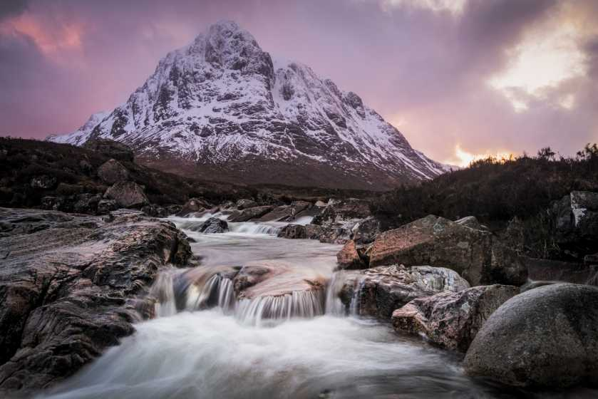MountainViews.ie Picture about mountain Buachaille Etive Mor - Stob Dearg in area Loch Linnhe to Loch Etive, Ireland