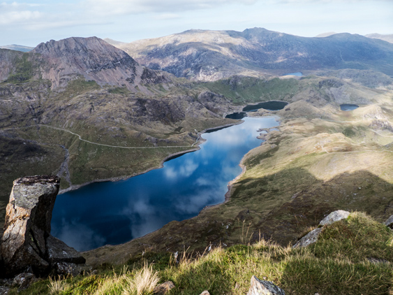 MountainViews.ie Picture about mountain Y Lliwedd East Top in area Snowdonia, Ireland