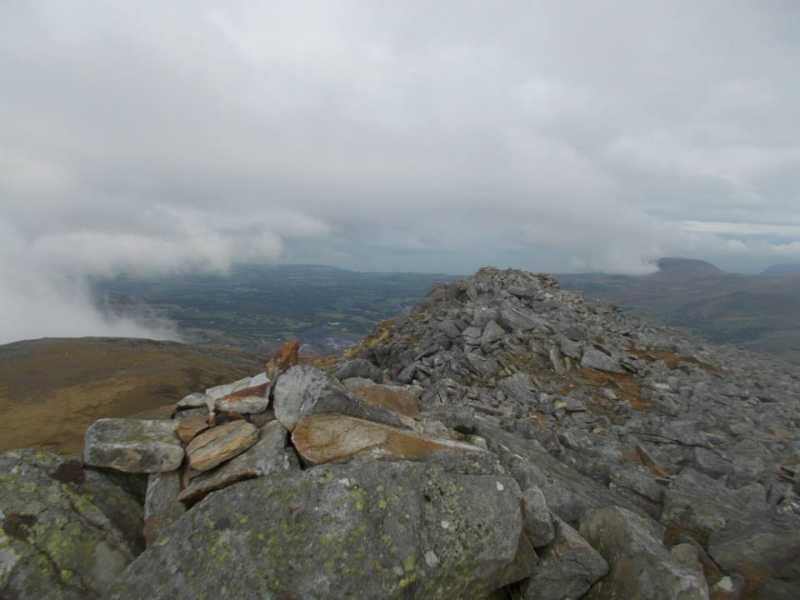 MountainViews.ie Picture about mountain Carnedd y Filiast  in area Snowdonia, Ireland