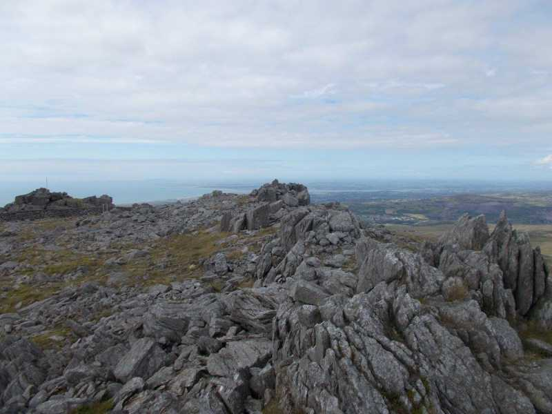 MountainViews.ie Picture about mountain Mynydd Graig Goch  in area Snowdonia, Ireland