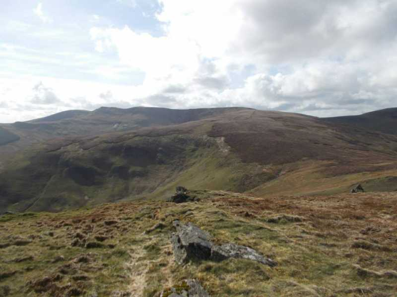 MountainViews.ie Picture about mountain Foel Wen South Top in area Bala to Welshpool, Ireland