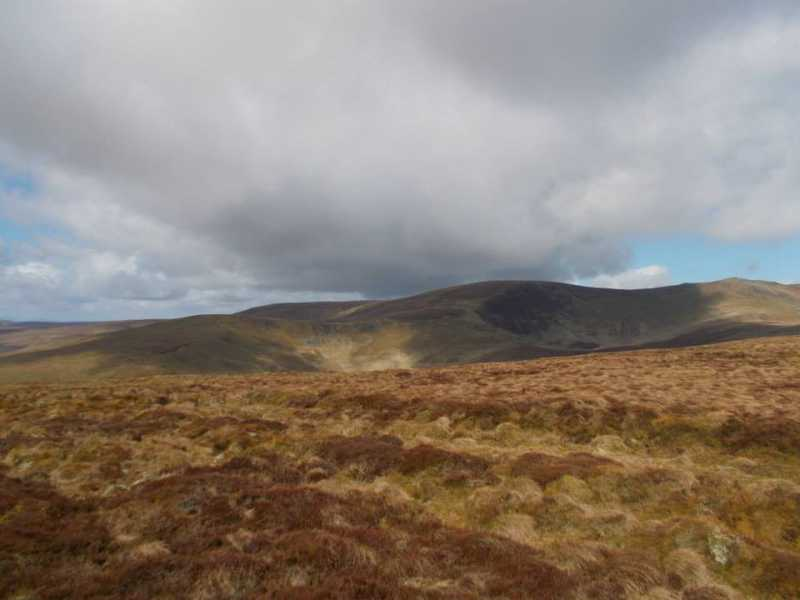 MountainViews.ie Picture about mountain Moel Poethion  in area Bala to Welshpool, Ireland