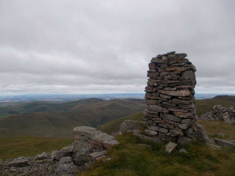MountainViews.ie Picture about mountain Auchope Cairn  in area The Scottish Border to the River Tyne, Ireland