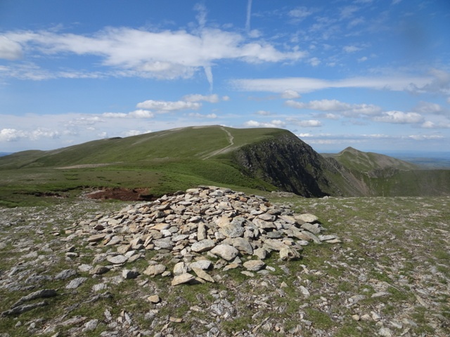 MountainViews.ie Picture about mountain Nethermost Pike in area Lake District - Eastern Fells, Ireland
