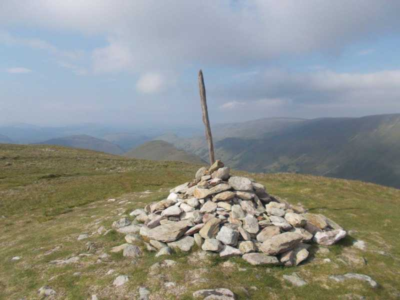 MountainViews.ie Picture about mountain Rest Dodd  in area Lake District - Eastern Fells, Ireland