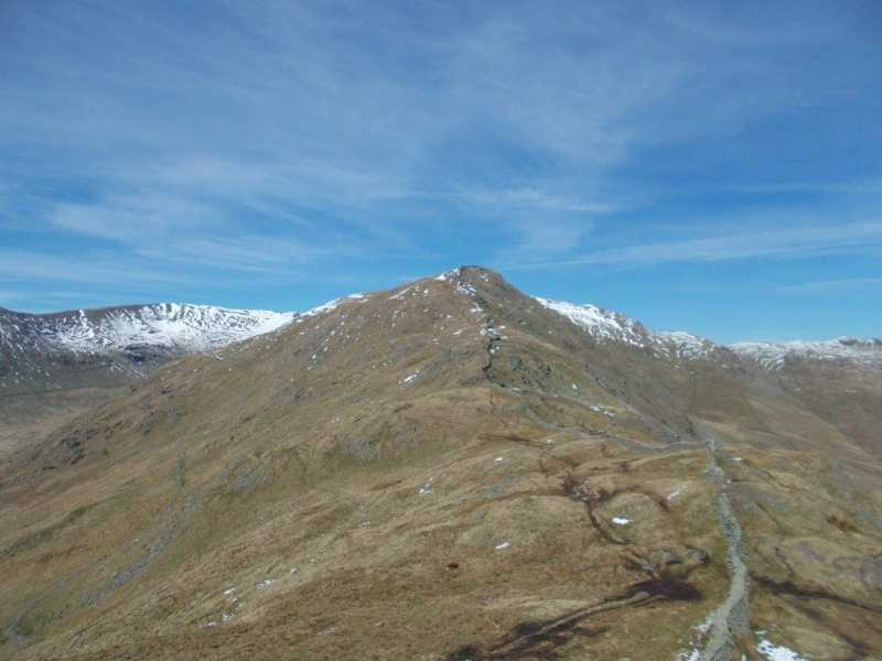 MountainViews.ie Picture about mountain Low Pike  in area Lake District - Eastern Fells, Ireland