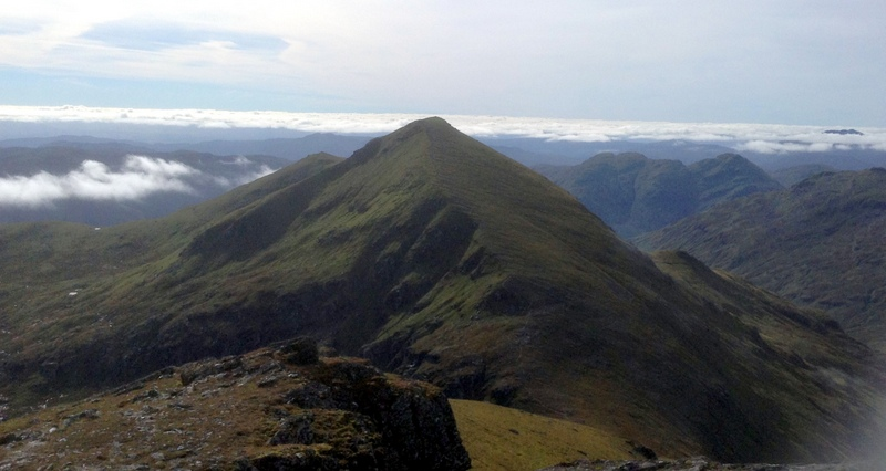 MountainViews.ie Picture about mountain Stob Binnein in area Loch Lomond to Strathyre, Ireland